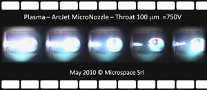 Ignition sequence of micro-plasma-thruster