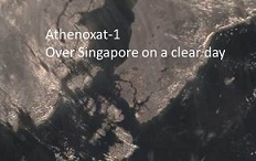 day image over Singapore